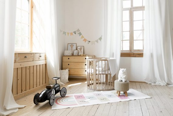 front-view-of-child-room-with-rustic-interior-design