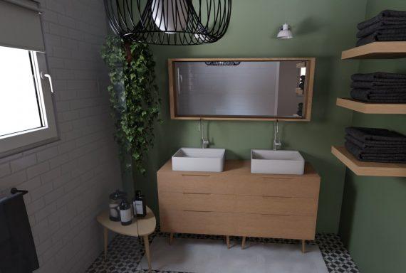 Projet j + m - salle de bain parentale 2